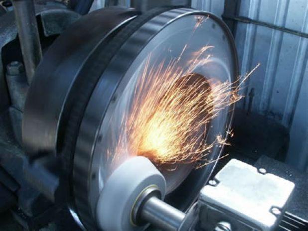 Flywheel Machining on Diesel Engine Crankshaft