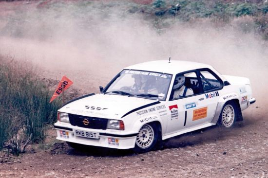 Ascona Rally Car (courtesy of Speed Sports)