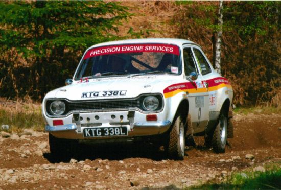Mk 1 Escort RS2000, DRF Rally Photography Stravaigers Lodge Gravel Sprint, 2010 Precision Engine Services prepared car