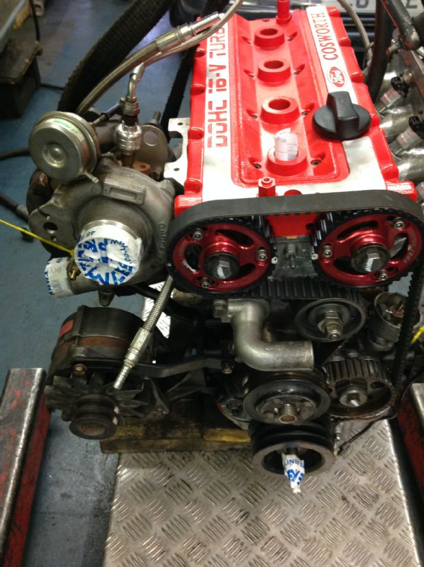 RS Cosworth engine all painted