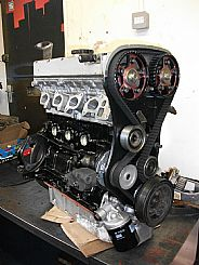 Vauxhall red top race engine for Mk1 Escort, to complete in the Scottish Sprint Championship