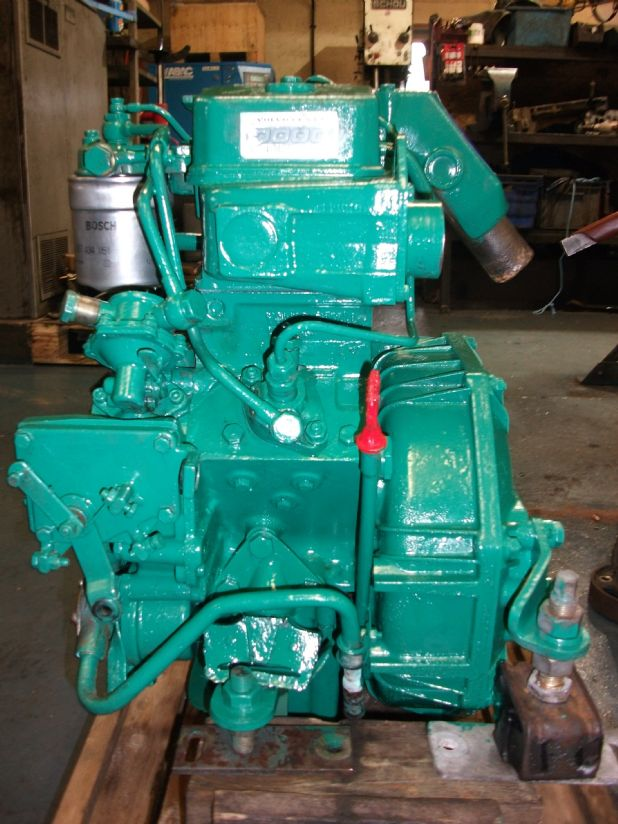Volvo 2000 single cylinder following complete overhaul